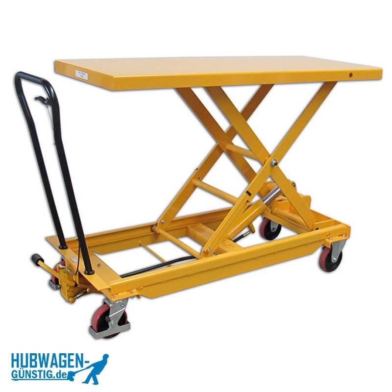 Hubtisch / Tischwagen lang 500kg