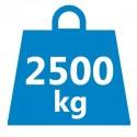 Tragkraft 2500kg
